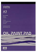 Scarva A3 Oil Paint Pad