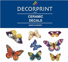 Decorprint Ceramic Decals - Butterflies