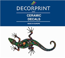 Decorprint Ceramic Decals - Lizard