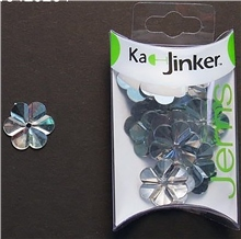 Scarva Faceted Flower - Clear - Ka-Jinker Jems