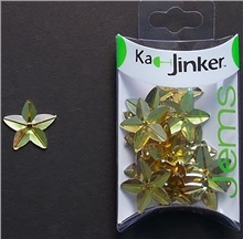 Scarva Faceted Star - Gold - Ka-Jinker Jems