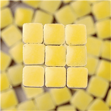 Scarva Mini Mosaic Ceramic Tiles, Light Yellow, 2295607, 150-Piece