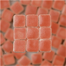 Scarva Mini Mosaic Ceramic Tiles, Salmon, 2295616, 150-Piece