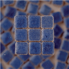 Scarva Mini Mosaic Ceramic Tiles, Blue, 2295648, 150-Piece