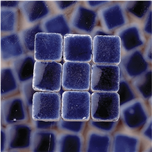 Scarva Mini Mosaic Ceramic Tiles, Royal Blue, 2295650, 150-Piece