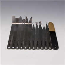 Hsin Tools Set of 11 Precision Steel Turning Tools & Diamond File