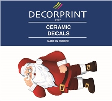 Decorprint Ceramic Decals - Santa Claus