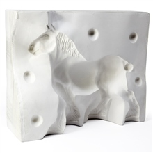 Scarva Small Shire Horse 2 Part Casting Mould