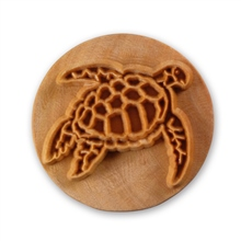 MKM Tools 6cm Round Stamp #005 - Sea Turtle 1