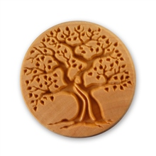 MKM Tools 6cm Round Stamp #007 - Old Tree