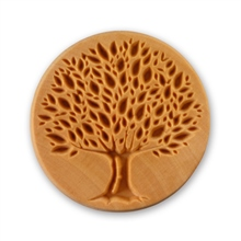 MKM Tools 6cm Round Stamp #008 - Tree of Life