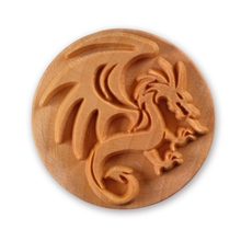 MKM Tools 6cm Round Stamp #013 - Dragon