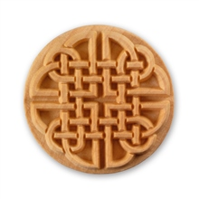 MKM Tools 6cm Round Stamp #015 - Celtic Knot