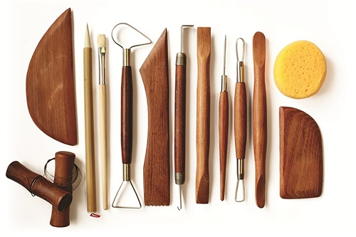 Scarva Tools Potters Basic Tool Kit  - Click to view larger image