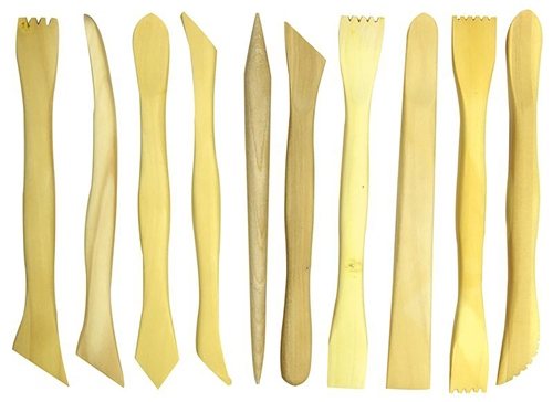 Scarva Tools 10 Piece Boxwood Modelling Set  - Click to view larger image