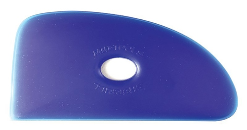 Mudtools Blue Flexible Rib No. 4 - VERY FIRM Flex  - Click to view larger image