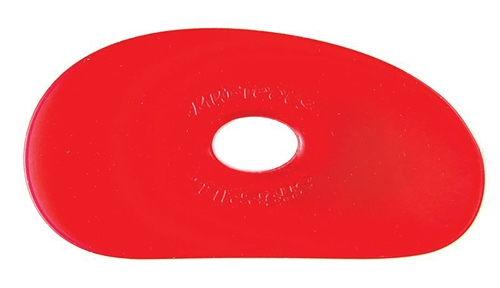 Mudtools Red Flexible Rib No. 1 - VERY SOFT Flex  - Click to view larger image