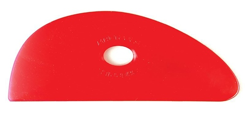 Mudtools Red Flexible Rib No. 3 - VERY SOFT Flex  - Click to view larger image