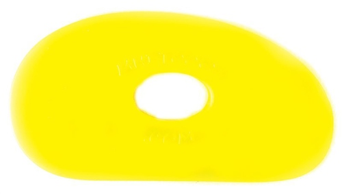Mudtools Yellow Flexible Rib No. 1 - SOFT Flex  - Click to view larger image