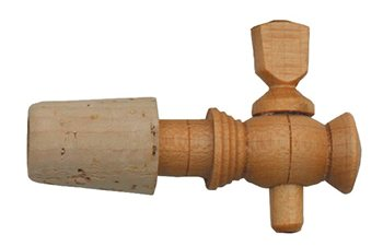 Scarva Sundries Small Wooden Tap with Collar  - Click to view larger image