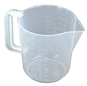 Scarva Straight Edge Jug 1 Litre  - Click to view larger image