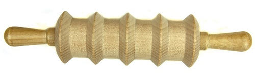 Scarva Tools Wooden Clay Roller - Five Line  - Click to view larger image