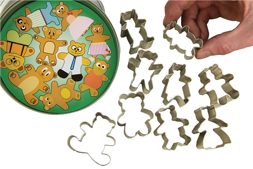 Scarva Tools Cutters - Teddy Bears  - Click to view larger image
