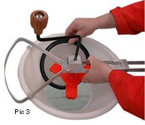 Talisman Rotary Sieve Set With 80 Mesh Screen  - Click to view larger image