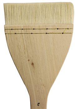 Scarva Flat Hake Brush - X Large 4  - Click to view larger image