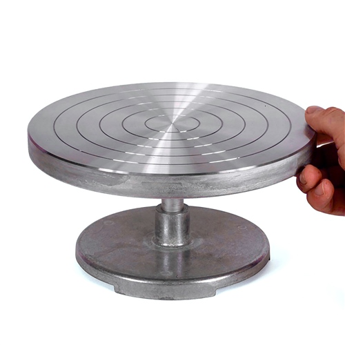 Scarva Steel Whirler - 8 x 4 | Banding Wheel  - Click to view larger image