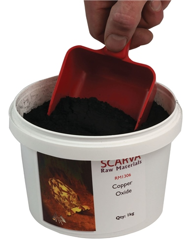 Scarva Raw Materials Copper Oxide RM1306  - Click to view larger image
