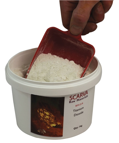 Scarva Raw Materials Titanium Dioxide RM1319  - Click to view larger image