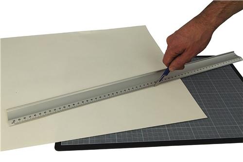 Scarva Aluminium Ruler - 100cm  - Click to view larger image