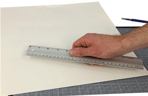 Scarva Aluminium Ruler - 30cm  - Click to view larger image