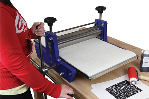 Scarva Professional Printing Press with Geared Plate  - Click to view larger image