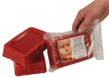 Scarva Wax Scopas Red Modelling Wax  - Click to view larger image