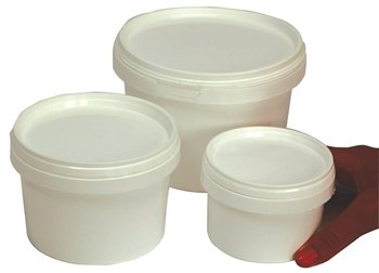 Scarva Plastic Container with lid  - Click to view larger image