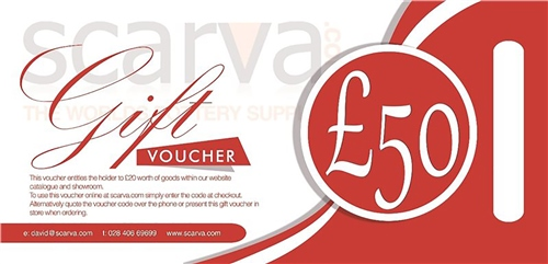 Scarva Gift Voucher - Printed  - Click to view larger image