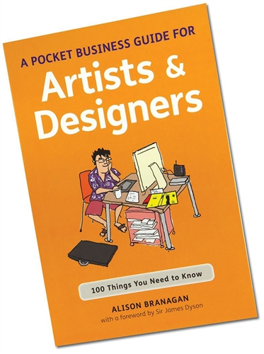 Bloomsbury The Pocket Business Guide for Artists and Designers  - Click to view larger image