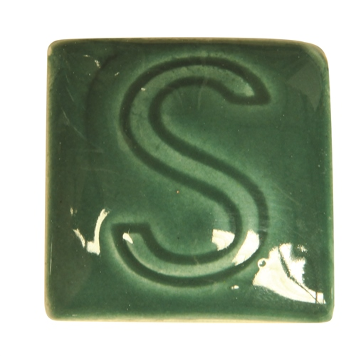 Spectrum 713 Hunter Green Glaze  - Click to view larger image