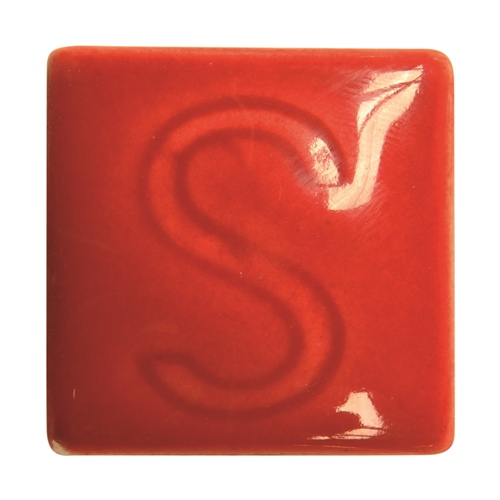 Spectrum 742 Dark Red Glaze  - Click to view larger image