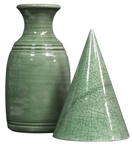 Chrysanthos CG005 Celadon Crackle  - Click to view larger image