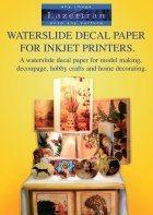 Lazertran Waterslide Decal Paper for Inkjet Printers