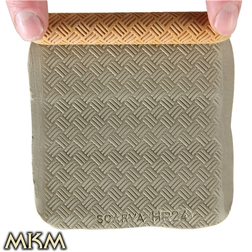 MKM Tools 10cm Hand Roller 24 - Fine Basket Weave  - Click to view larger image