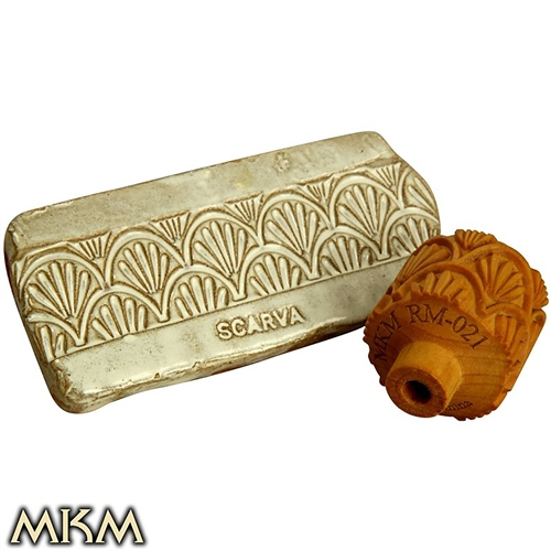 MKM Tools 3cm Roller RM021 - Art Nouveau 1  - Click to view larger image