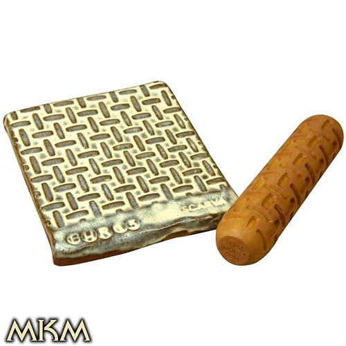 MKM Tools Big Hand Roller 15 - Rattan Weave  - Click to view larger image