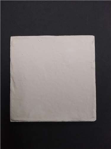 H & E Smith Square Bisque Unglazed Tile 5 x 5 | 125mm x 125mm x 8mm - Rustic Chipped Edge 1