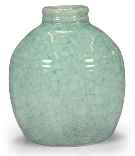 Scarva Nano Colours NPK005 Powder Blue Porcelain Crackle Glaze  - Click to view larger image