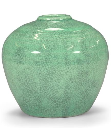Scarva Nano Colours NPK007 Seafoam Green Porcelain Crackle Glaze  - Click to view larger image