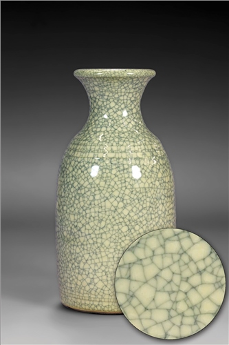 Scarva Nano Colours NAK002 Ivory Stoneware Crackle Glaze  - Click to view larger image